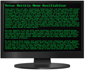 website so old that it is written in latin