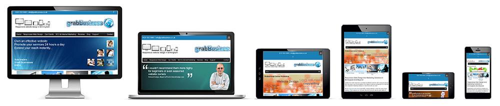 Responsive Website Design In Birmingham