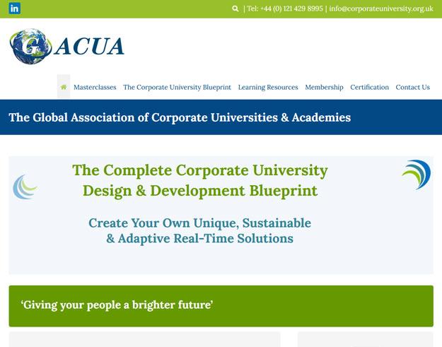 G-Acua Global Academy Of Corporate Universities & Academies